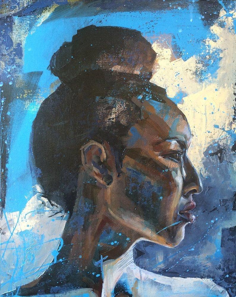 Jean, Portrait Study