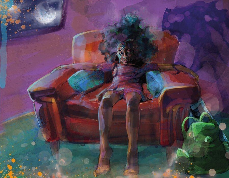 Opie Snow ~ Moongazing Art Print #7