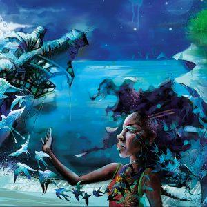 Opie Snow ~ Moongazing Art Print #8
