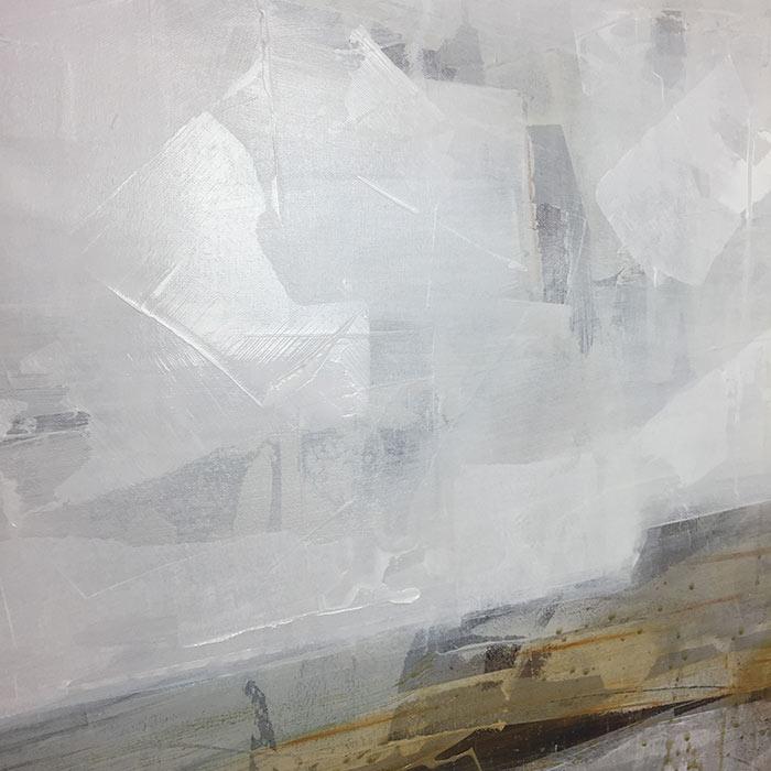 Opie Snow Lael Painting Process