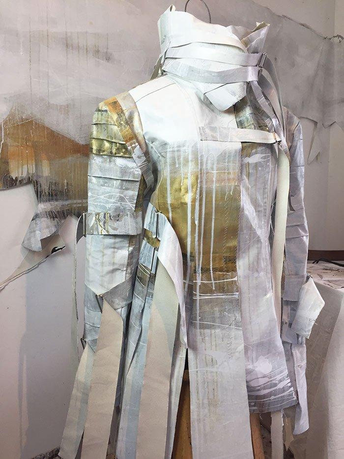 Opie Snow Lael Fashion. Creating Jacket.